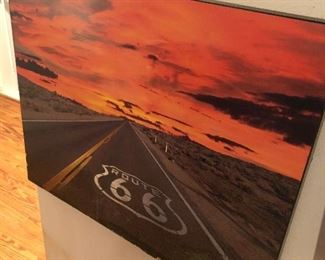44 Route 66 wall decor  $25.00