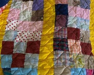 Queen size hand made quilt  70.00