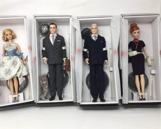 4 Mad Men Barbie Dolls        https://ctbids.com/#!/description/share/370718