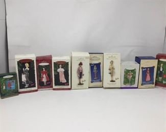10 Hallmark Keepsake Barbie Ornaments https://ctbids.com/#!/description/share/370724