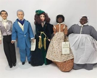 5 Gone With the Wind Dolls by World Doll https://ctbids.com/#!/description/share/370725