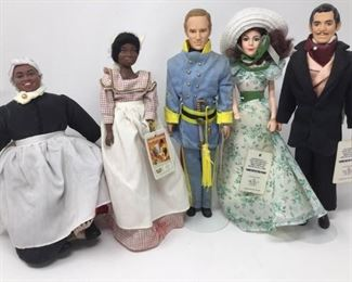5 Gone With the Wind Dolls (#2) https://ctbids.com/#!/description/share/370727