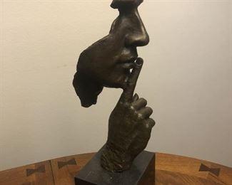 Dali Bronze Silence