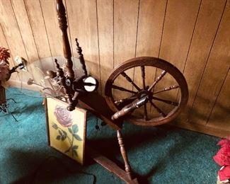 Spinning wheel 125.00