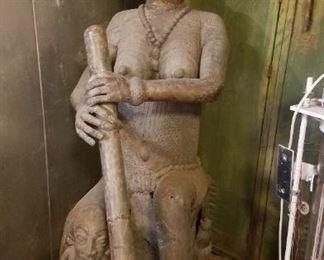 Vintage African Bronze, Huge, Detailed Reduced to $3900