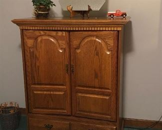"""Broyhill Armoire 18"""" deep.     47"""" height.     36"""" wide $100"""