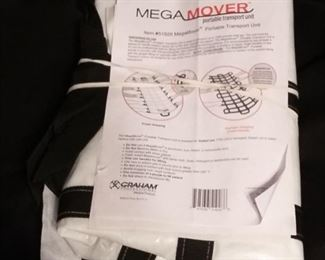 Mega Mover for moving people.