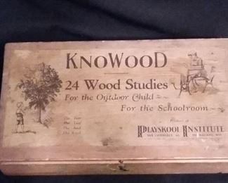 Vintage 1929 KnoWood Wood Studies for the Outdoor Child & for the Schoolroom (or home schooling).