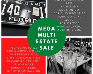 Mega Multi Estate Sale