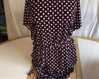 White House Black Market dress with belt, large $20