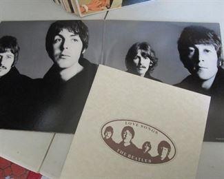 Vintage Beatles Vinyl