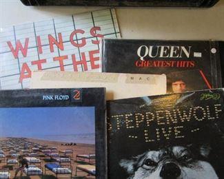 Vintage Vinyl - Wings, Pink Floyd, Queen