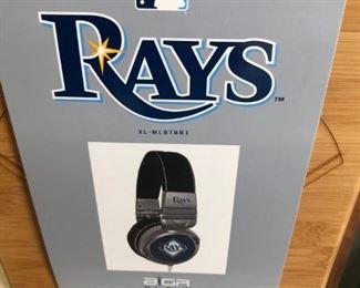 $15 Rays MLB Headphones