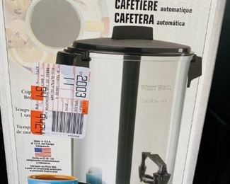 $20 Westbend 30 cup Coffeemaker
