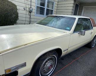 Old Cadillac Eldorado last inspected in 2009. vin#g6aL5787de62033  $600 obo  As is where is.