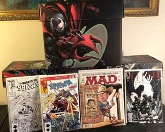 Sealed, Never Opened Spawn Comic Book Collection