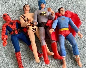 Mego Action Figures: $100