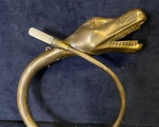 020m Antique Car Horn Animal Head