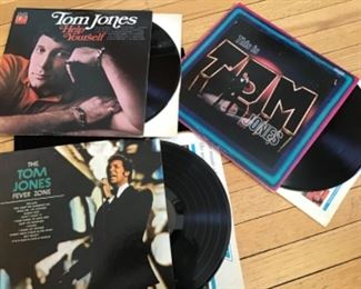 3 vintage TOM JONES albums in excellent condition. Tom Jones Help yourself, This is Tom Jones, The Tom Jones Fever Zone.  $25. Shipping based on buyers location