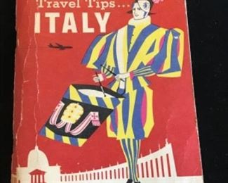 1960 TWA Travel Tips ITALY. $20.  Shipping based on buyers location