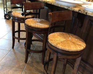 Ballard's Design bar stools, excellent condition