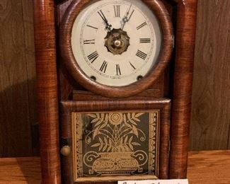 Antique Steeple Clock/Alarm, $45. Very nice condition. Runs.  NOW 50% OFF - NEW PRICE $22.50! Use contact button below for purchase with local pick up