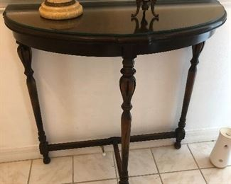 "Hallway Table  $100.00  30"" tall x 29.5"" wide"