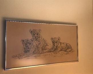 Lion cub picture set continued