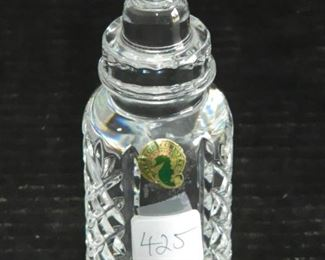 Waterford Crystal Baby Bottle