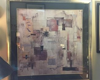 Abstract Print: $125