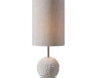 Pair of Shell Lamps: $150ea