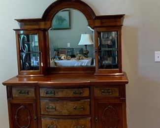 $1,200  Beautiful Antique English Sideboard.  The price is negotiable.