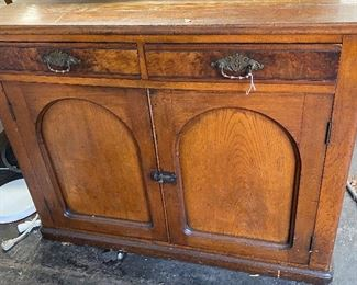 """Goes with hutch -$600 set -Solid base 45"""" w x 31"""" t"""