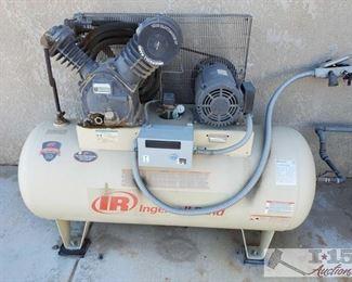 40: Ingersoll Rand 120 Gal. Air Compressor Ingersoll Rand 120 Gal. Air Compressor, Model# 2545, Serial# 6041713