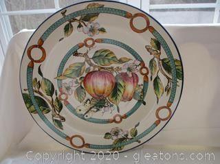 Decorative Italian Wall Plate