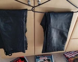 leather pants size 30 waist $20 each