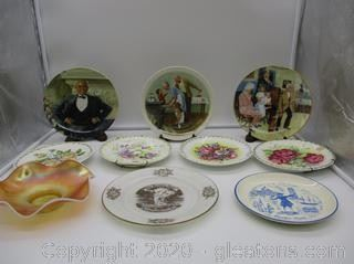 10 Collectors Plates