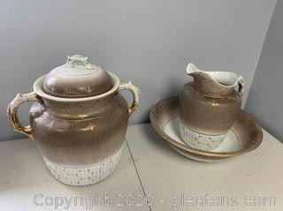 1800s Mossly Pottery