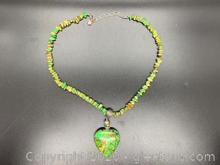 Jay King Jade Turquoise Necklace
