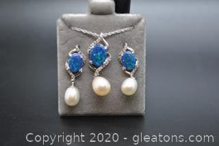 Opal and Pearl Set