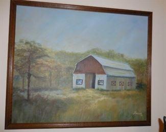 Nice Oil Painting $32