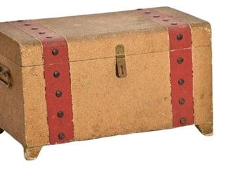 4. 1950s Painted Decorated Box