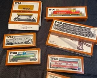 More Tyco Trains
