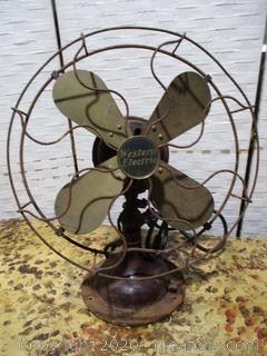 Vintage Western Electric Fan WORKS