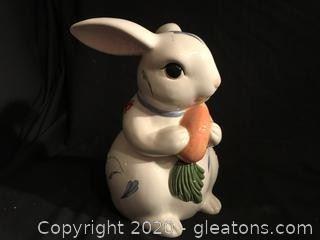 Lenox Easter RAbbit Cookie Jar