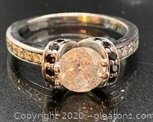 Large Diamond Engagement Rings