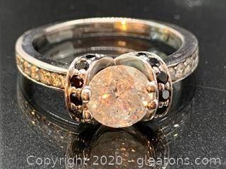 Large Diamond Engagement Rings