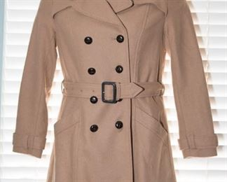 JH-114 H and M Womens Size 8 Trenchcoat $19.95