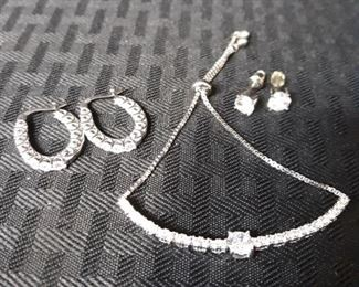Elegant sterling silver jewelry