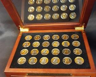 Sacagawea Platinum Gold dollars